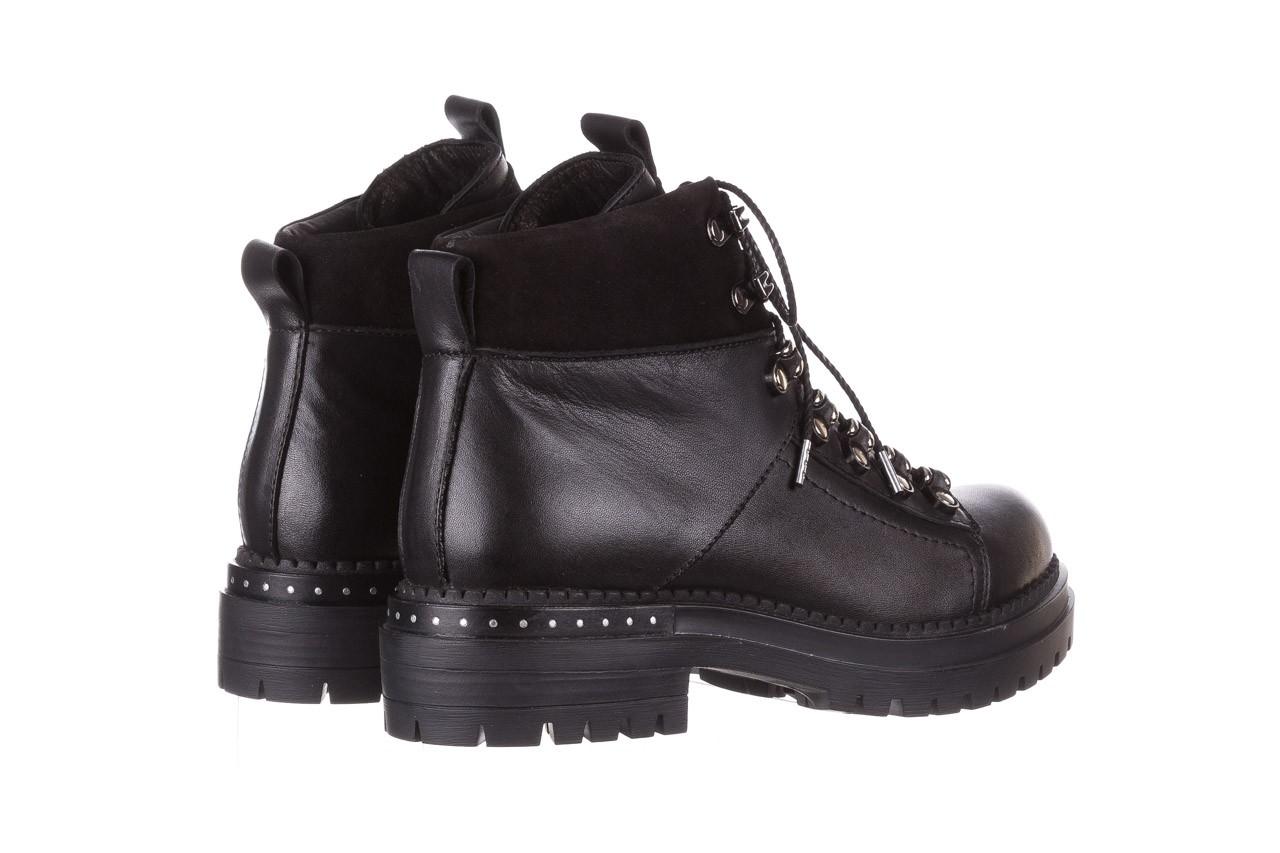 Trzewiki bayla-161 050-7256 black, czarny, skóra naturalna  - trzewiki - buty damskie - kobieta 13