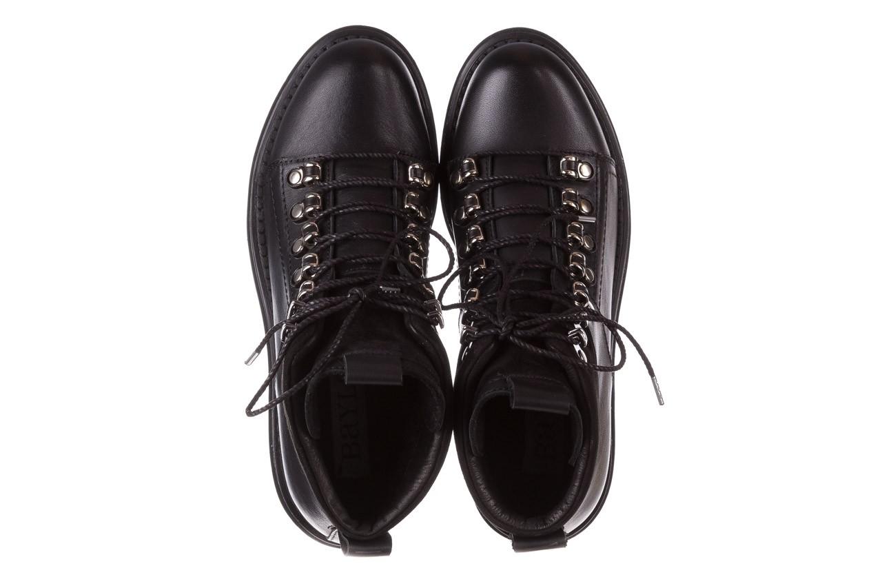 Trzewiki bayla-161 050-7256 black, czarny, skóra naturalna  - trzewiki - buty damskie - kobieta 14