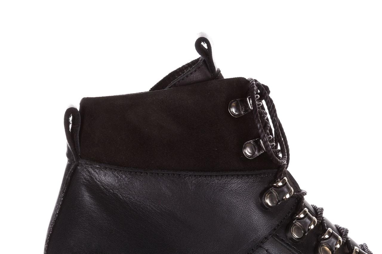 Trzewiki bayla-161 050-7256 black, czarny, skóra naturalna  - trzewiki - buty damskie - kobieta 16