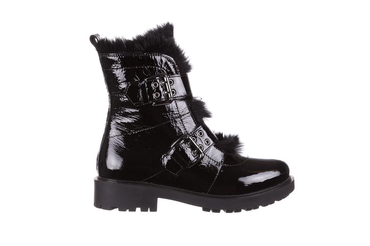 Trzewiki bayla-161 050-7863 black, czarny, skóra naturalna lakierowana  - trzewiki - buty damskie - kobieta 11