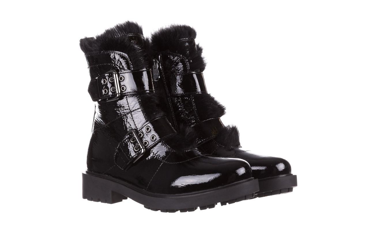 Trzewiki bayla-161 050-7863 black, czarny, skóra naturalna lakierowana  - trzewiki - buty damskie - kobieta 12