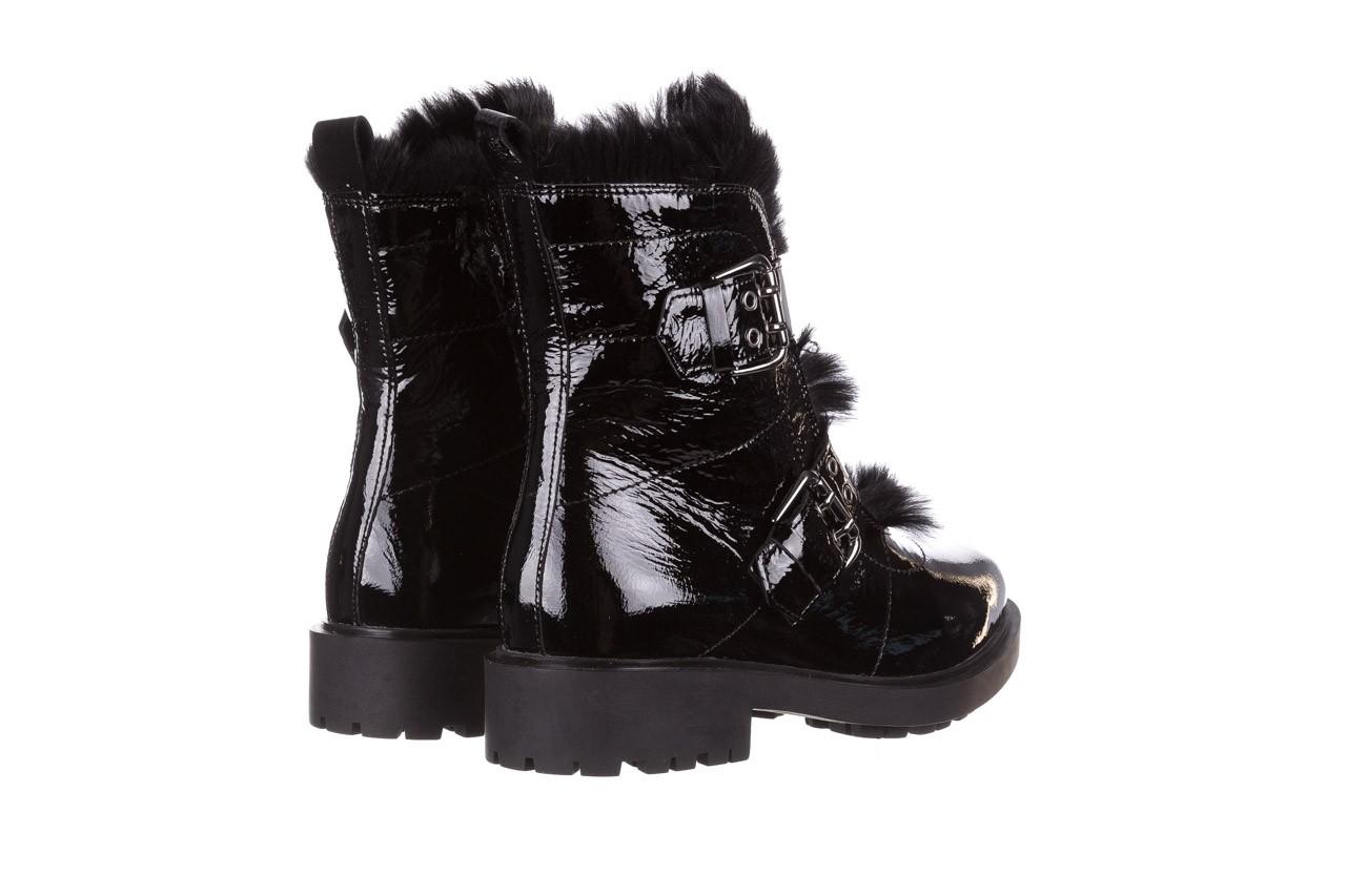 Trzewiki bayla-161 050-7863 black, czarny, skóra naturalna lakierowana  - trzewiki - buty damskie - kobieta 15