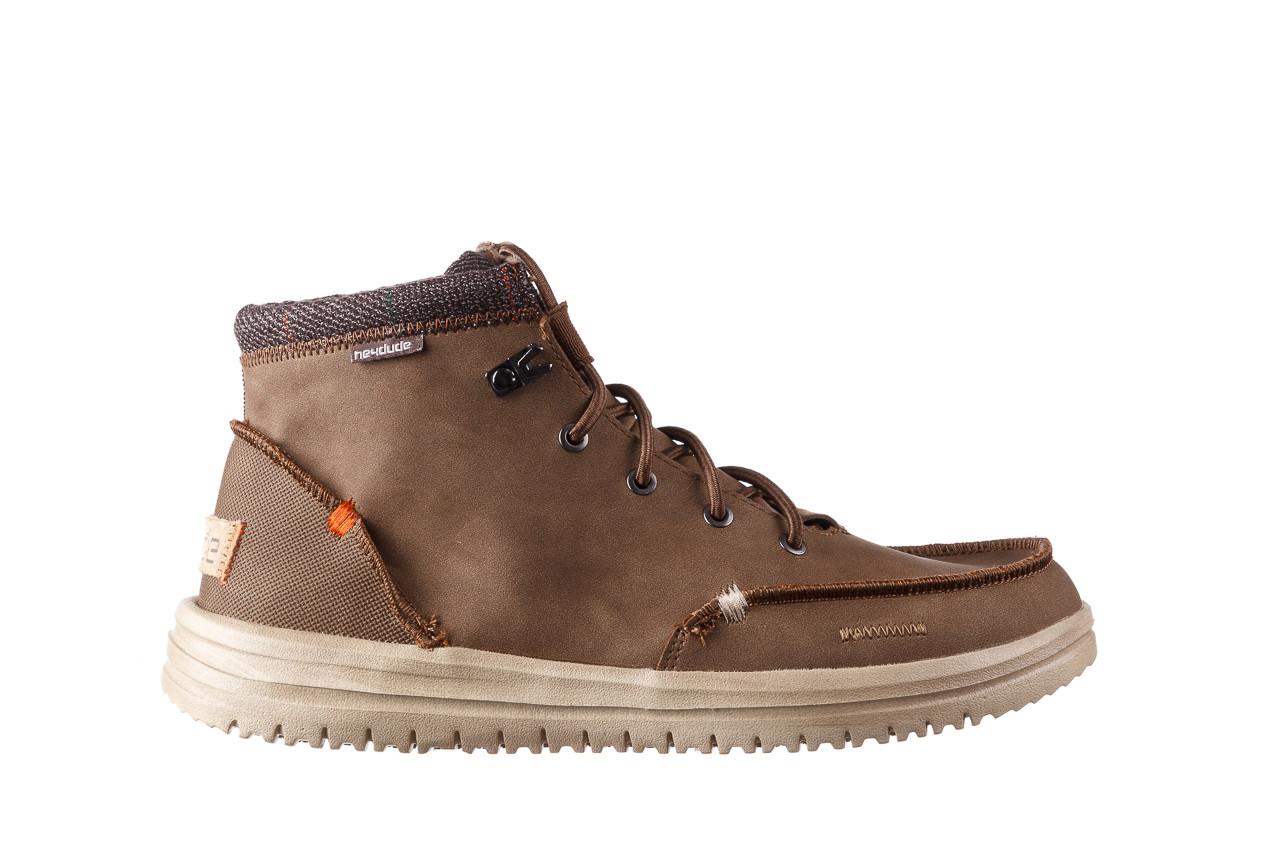 Trzewiki heydude bradley brown 003192, brąz, skóra naturalna  - trzewiki - buty męskie - mężczyzna 9