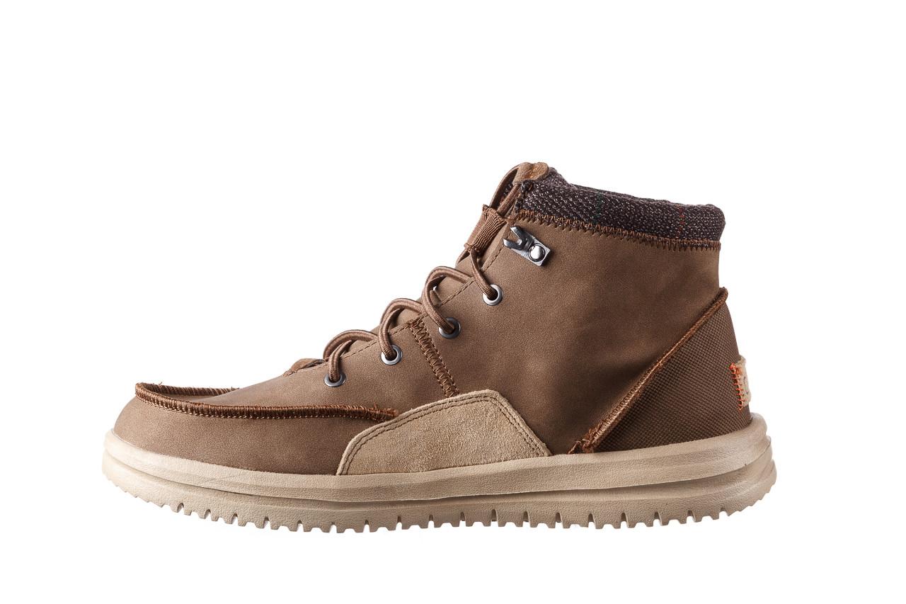 Trzewiki heydude bradley brown 003192, brąz, skóra naturalna  - trzewiki - buty męskie - mężczyzna 11