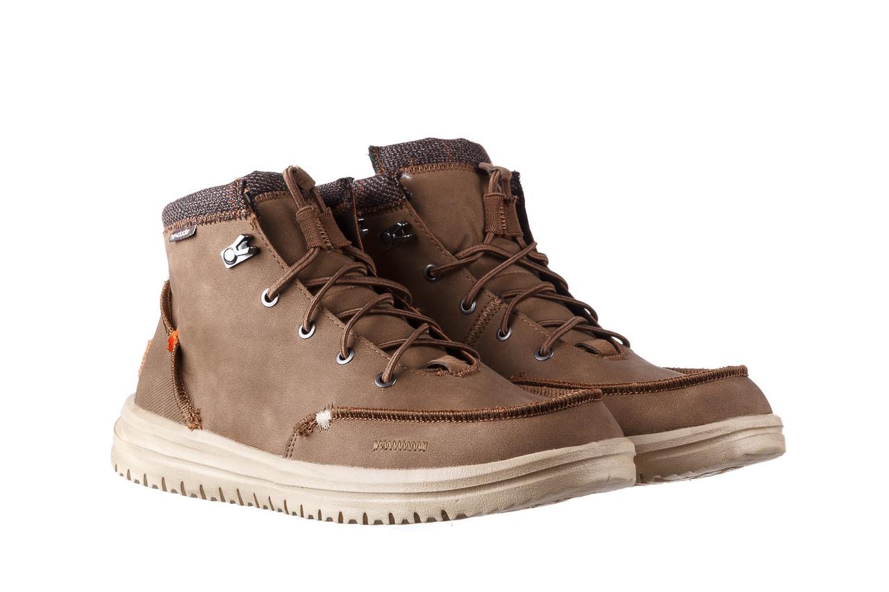 Trzewiki heydude bradley brown 003192, brąz, skóra naturalna  - trzewiki - buty męskie - mężczyzna 10