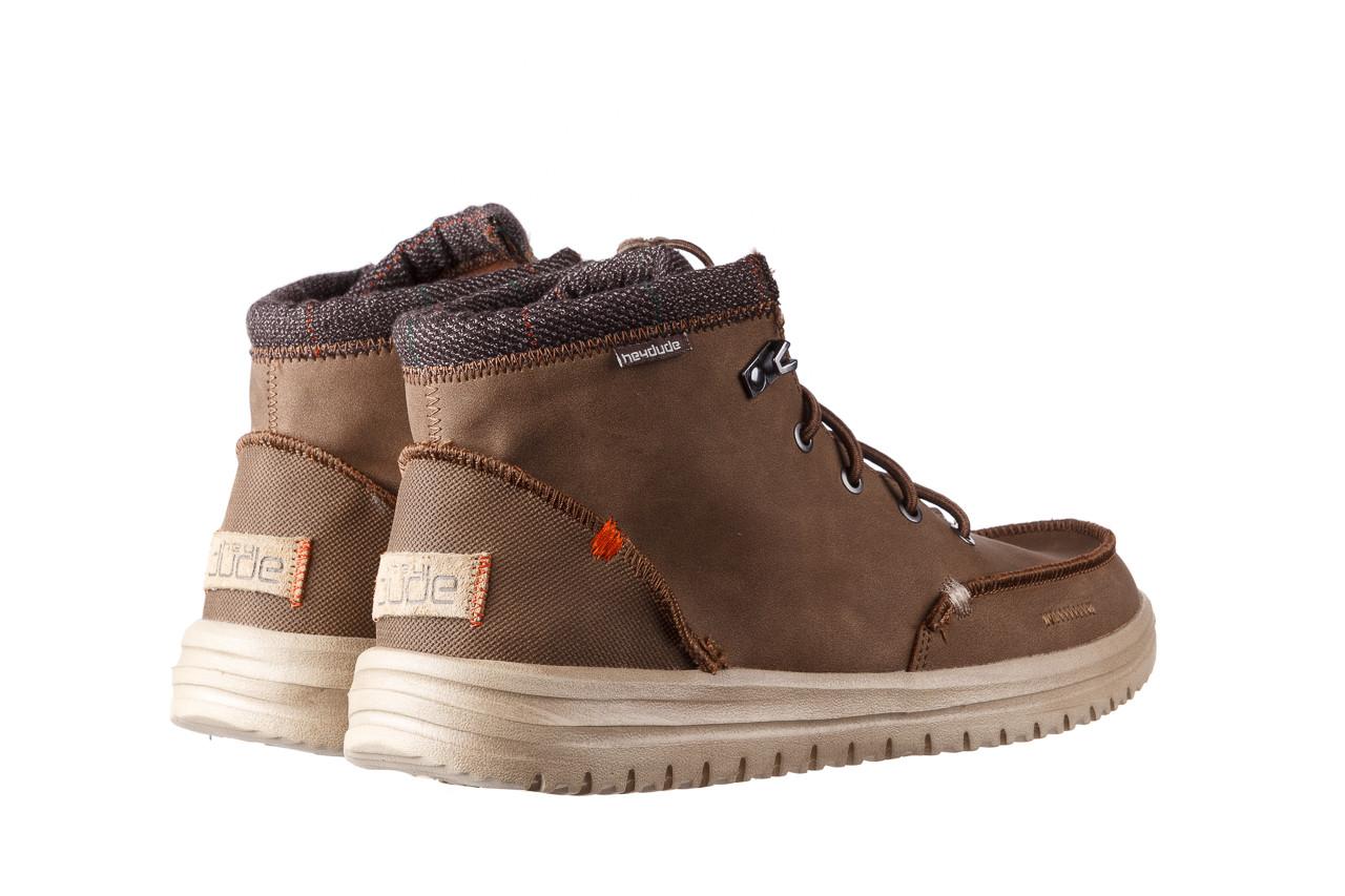 Trzewiki heydude bradley brown 003192, brąz, skóra naturalna  - trzewiki - buty męskie - mężczyzna 12