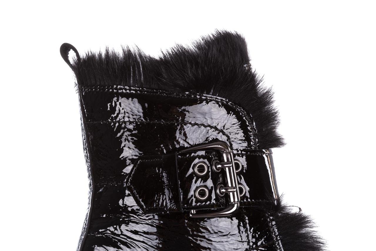 Trzewiki bayla-161 050-7863 black, czarny, skóra naturalna lakierowana  - trzewiki - buty damskie - kobieta 19