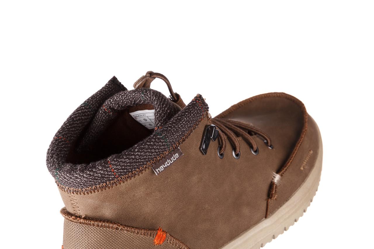Trzewiki heydude bradley brown 003192, brąz, skóra naturalna  - trzewiki - buty męskie - mężczyzna 14