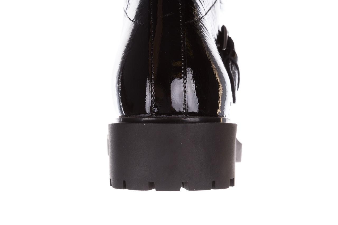 Trzewiki bayla-161 050-7863 black, czarny, skóra naturalna lakierowana  - trzewiki - buty damskie - kobieta 21