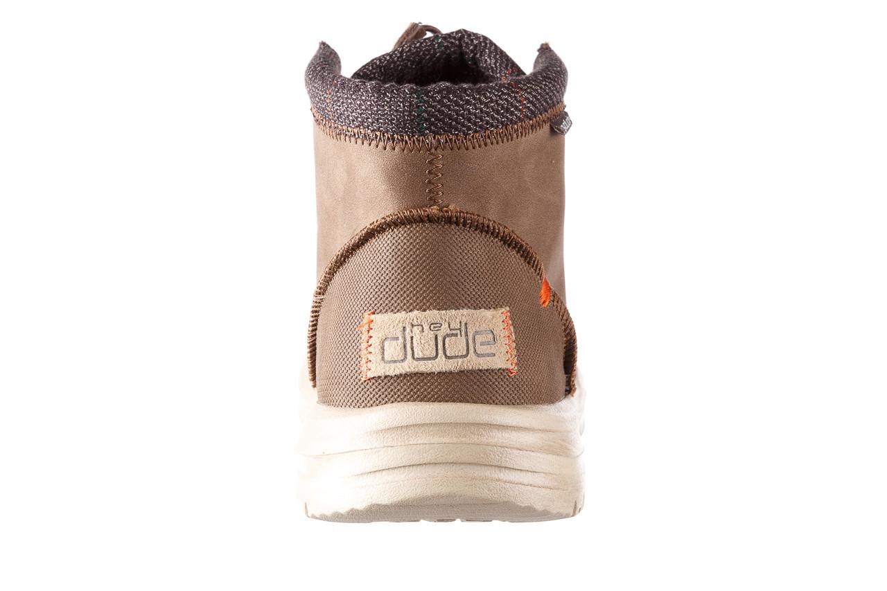 Trzewiki heydude bradley brown 003192, brąz, skóra naturalna  - trzewiki - buty męskie - mężczyzna 15