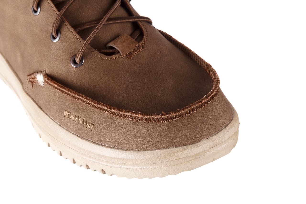 Trzewiki heydude bradley brown 003192, brąz, skóra naturalna  - trzewiki - buty męskie - mężczyzna 17
