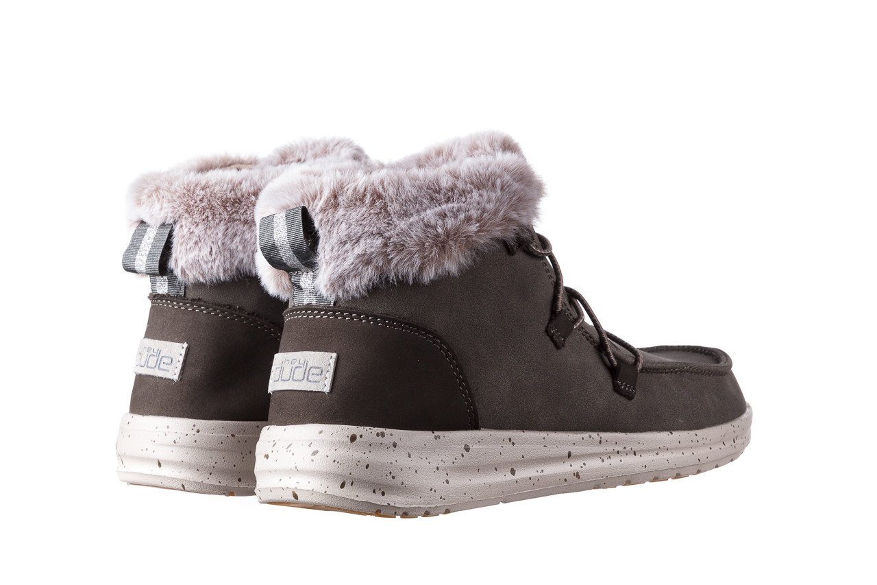 Śniegowce heydude eloise bruno 003194, zielony, skóra naturalna  - trendy - kobieta 12