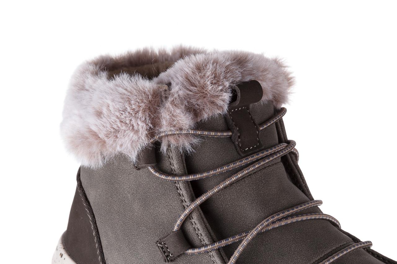 Śniegowce heydude eloise bruno 003194, zielony, skóra naturalna  - trendy - kobieta 15