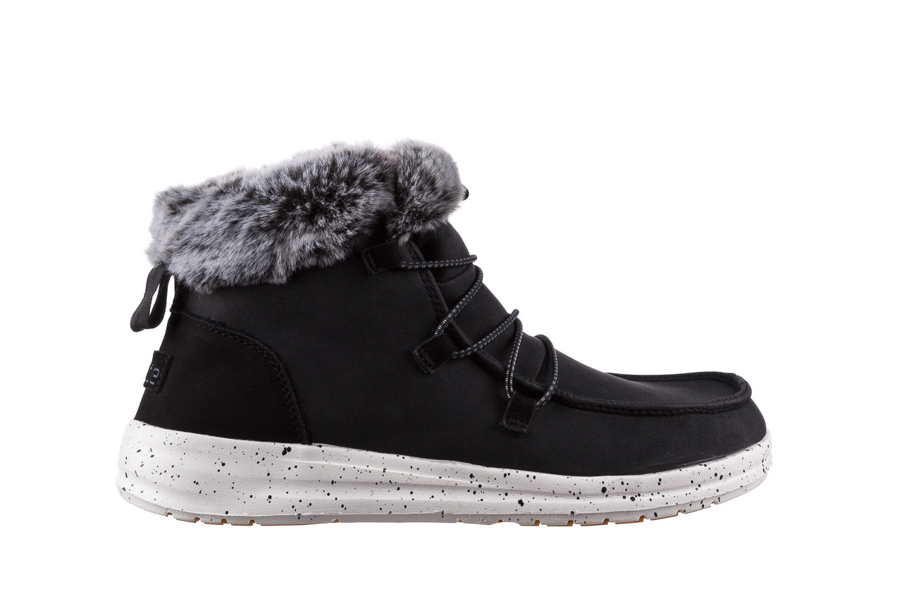 Śniegowce heydude eloise black 003193, czarny, skóra naturalna  - śniegowce - śniegowce i kalosze - buty damskie - kobieta 9