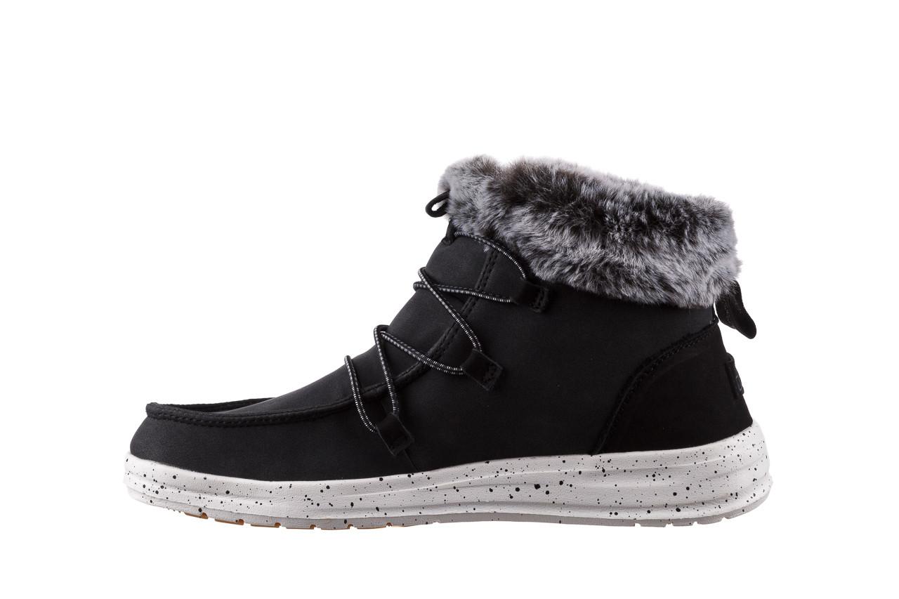 Śniegowce heydude eloise black 003193, czarny, skóra naturalna  - śniegowce - śniegowce i kalosze - buty damskie - kobieta 11