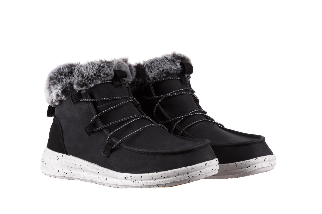 Śniegowce heydude eloise black 003193, czarny, skóra naturalna  - śniegowce - śniegowce i kalosze - buty damskie - kobieta 10