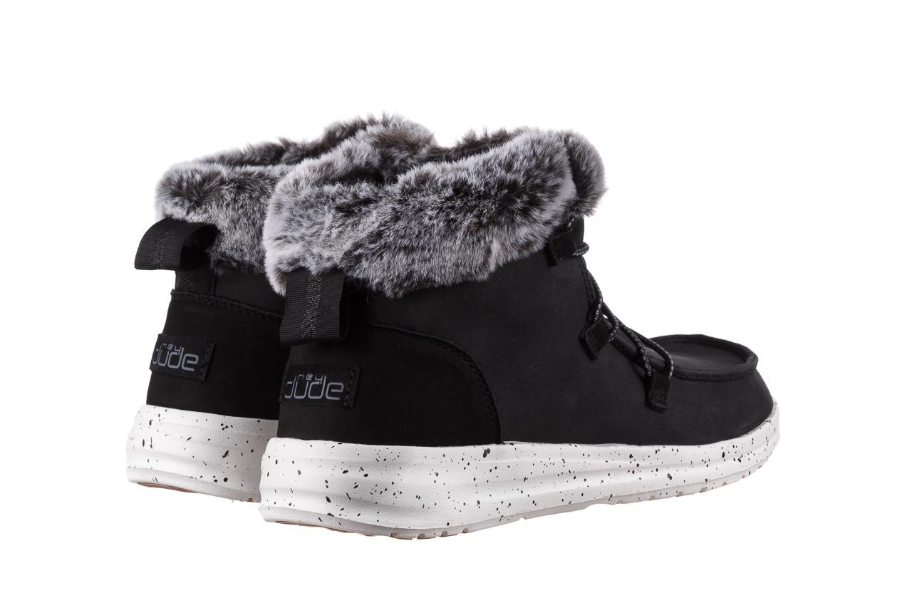 Śniegowce heydude eloise black 003193, czarny, skóra naturalna  - śniegowce - śniegowce i kalosze - buty damskie - kobieta 12