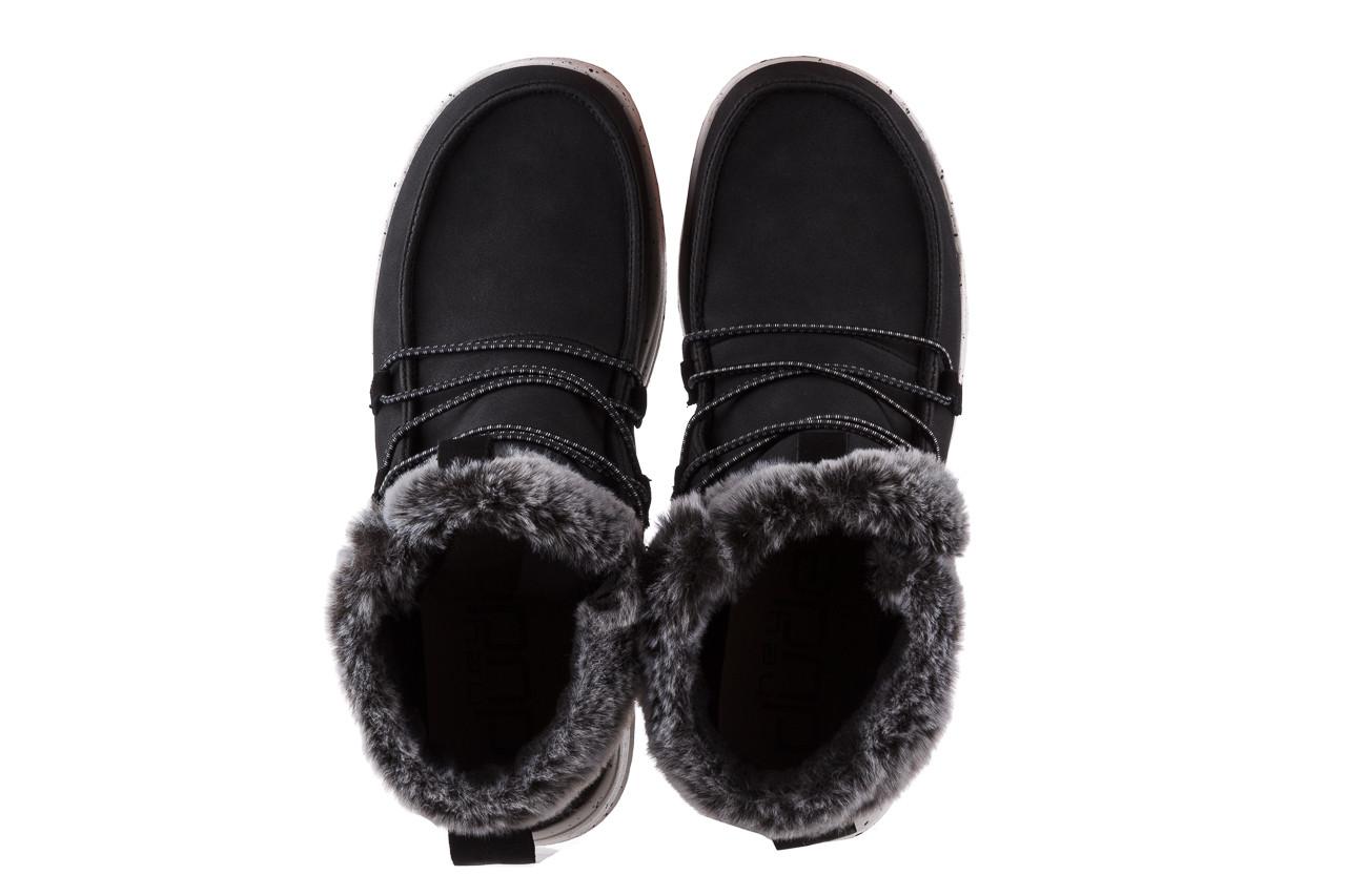 Śniegowce heydude eloise black 003193, czarny, skóra naturalna  - śniegowce - śniegowce i kalosze - buty damskie - kobieta 13