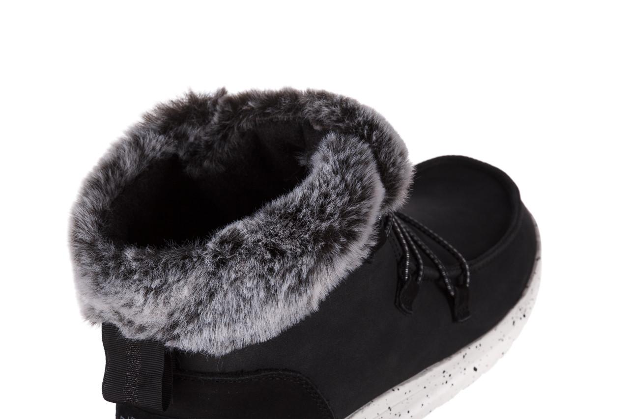 Śniegowce heydude eloise black 003193, czarny, skóra naturalna  - śniegowce - śniegowce i kalosze - buty damskie - kobieta 14