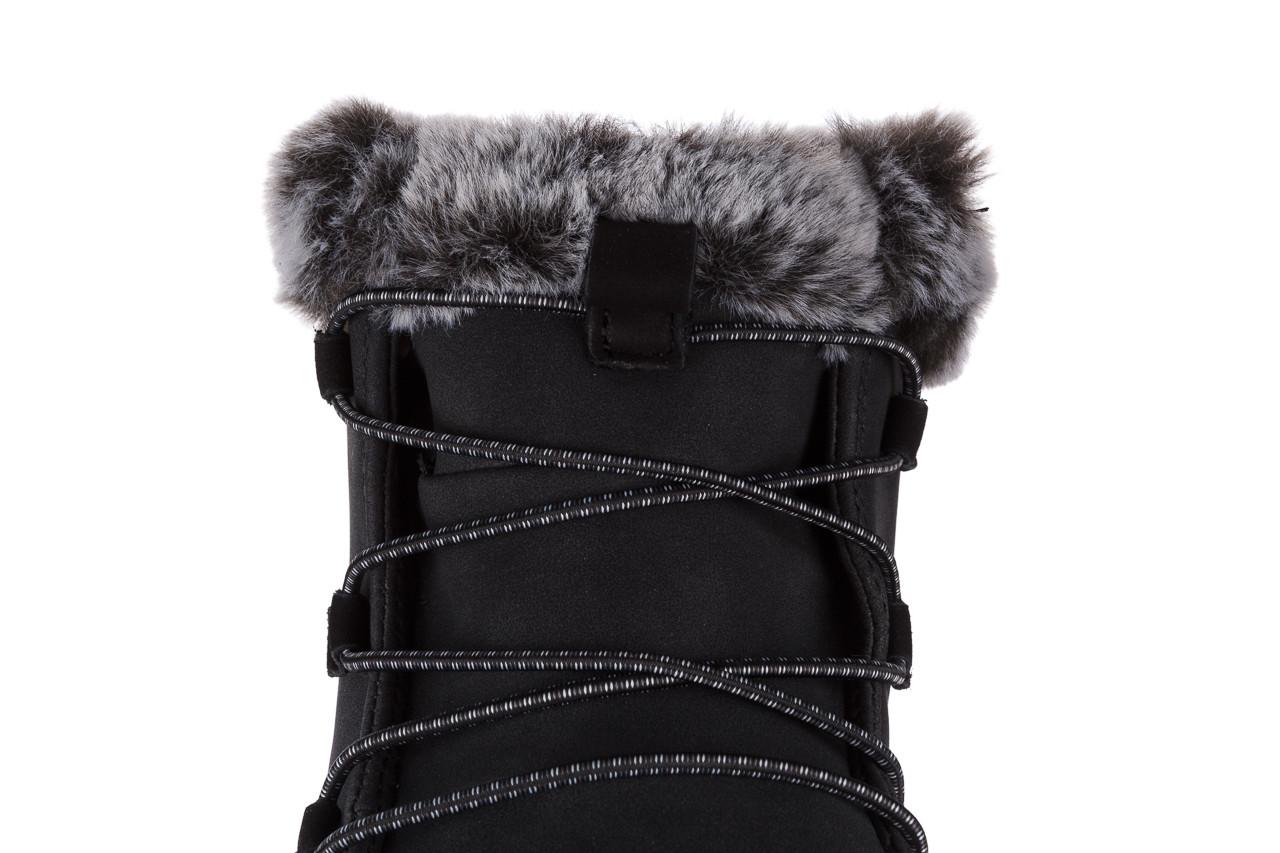 Śniegowce heydude eloise black 003193, czarny, skóra naturalna  - śniegowce - śniegowce i kalosze - buty damskie - kobieta 17