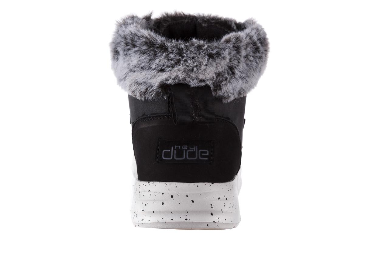 Śniegowce heydude eloise black 003193, czarny, skóra naturalna  - śniegowce - śniegowce i kalosze - buty damskie - kobieta 15