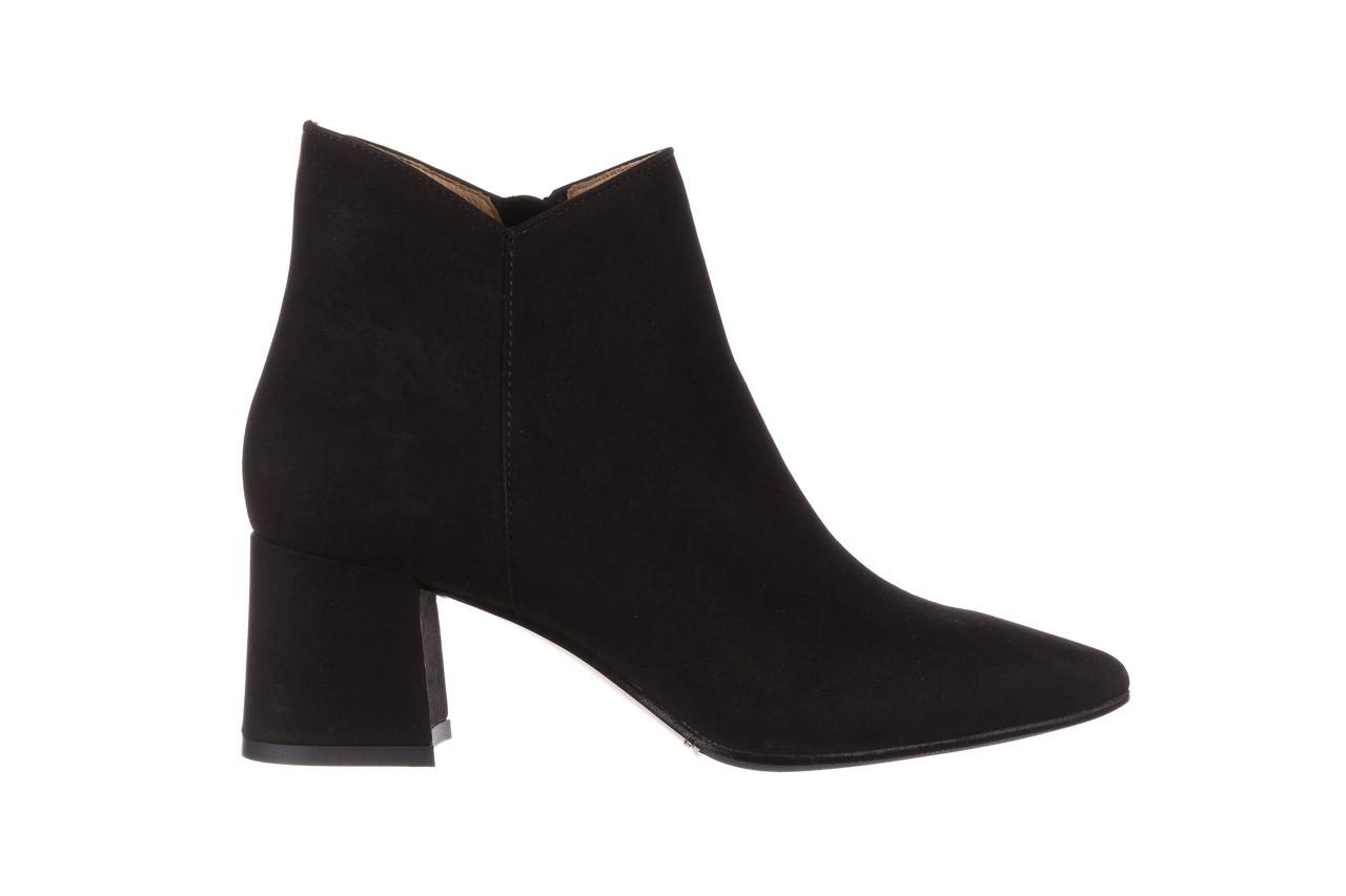 Botki bayla-188 007 czarny 188023, skóra naturalna  - skórzane - botki - buty damskie - kobieta 9