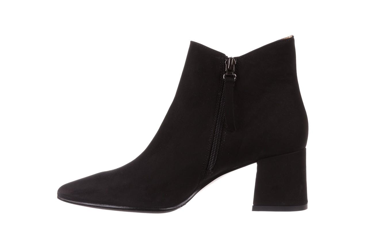 Botki bayla-188 007 czarny 188023, skóra naturalna  - skórzane - botki - buty damskie - kobieta 12