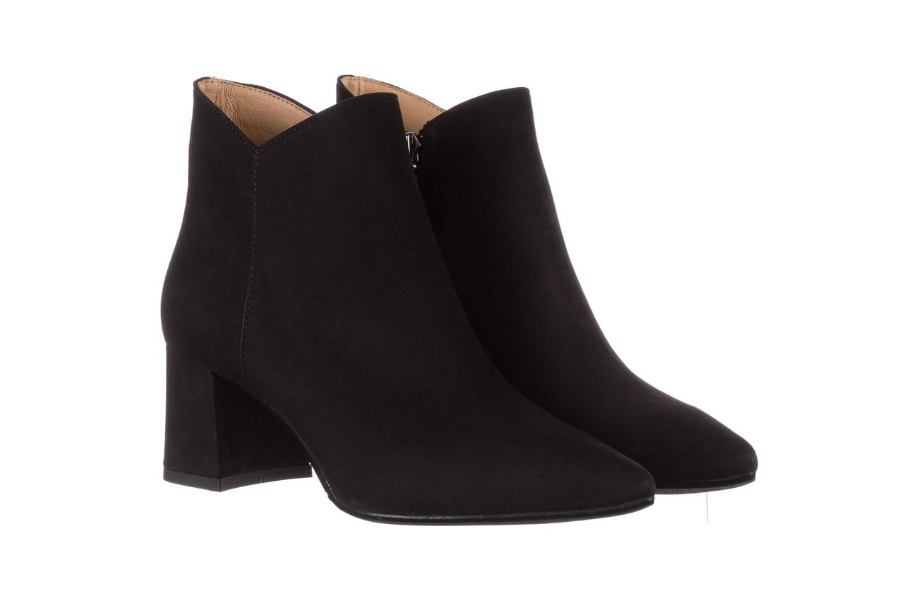 Botki bayla-188 007 czarny 188023, skóra naturalna  - skórzane - botki - buty damskie - kobieta 10