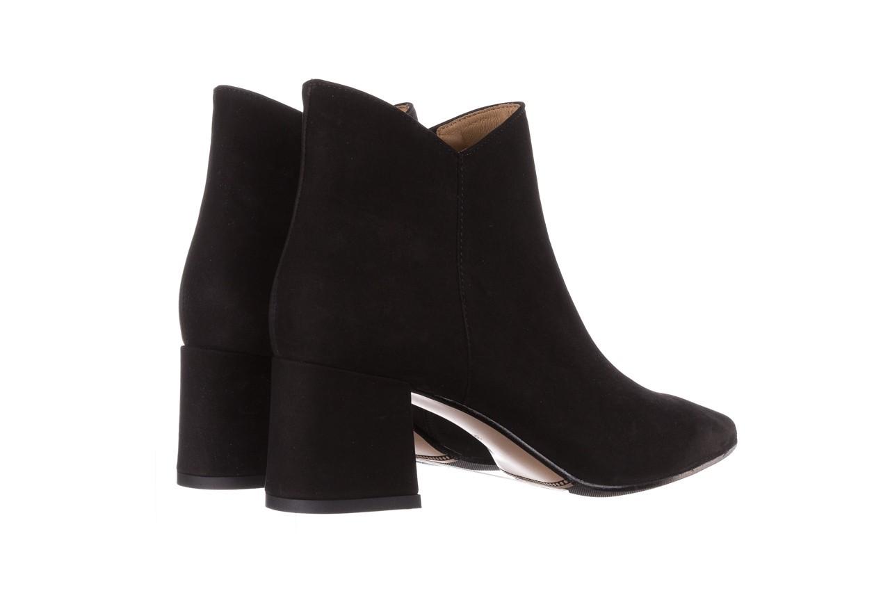 Botki bayla-188 007 czarny 188023, skóra naturalna  - skórzane - botki - buty damskie - kobieta 13
