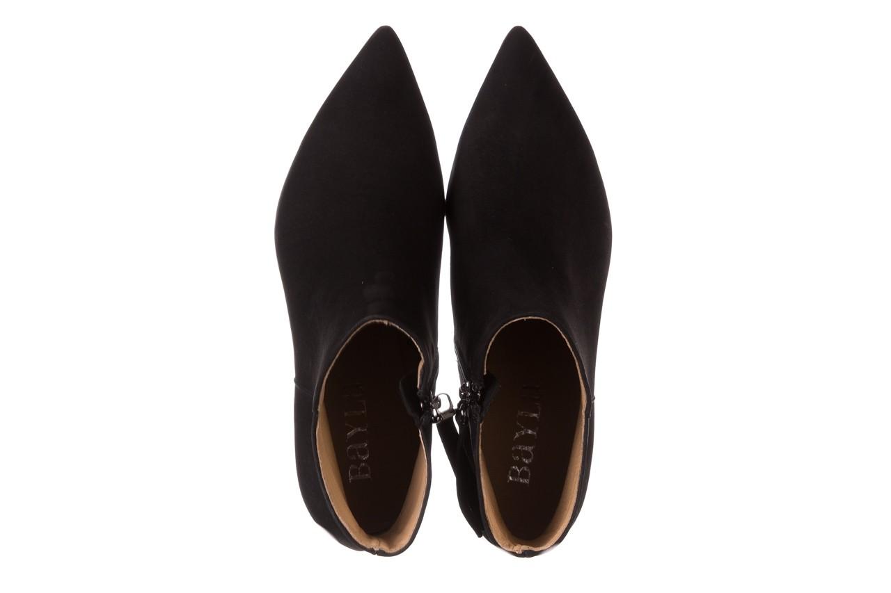 Botki bayla-188 007 czarny 188023, skóra naturalna  - skórzane - botki - buty damskie - kobieta 14