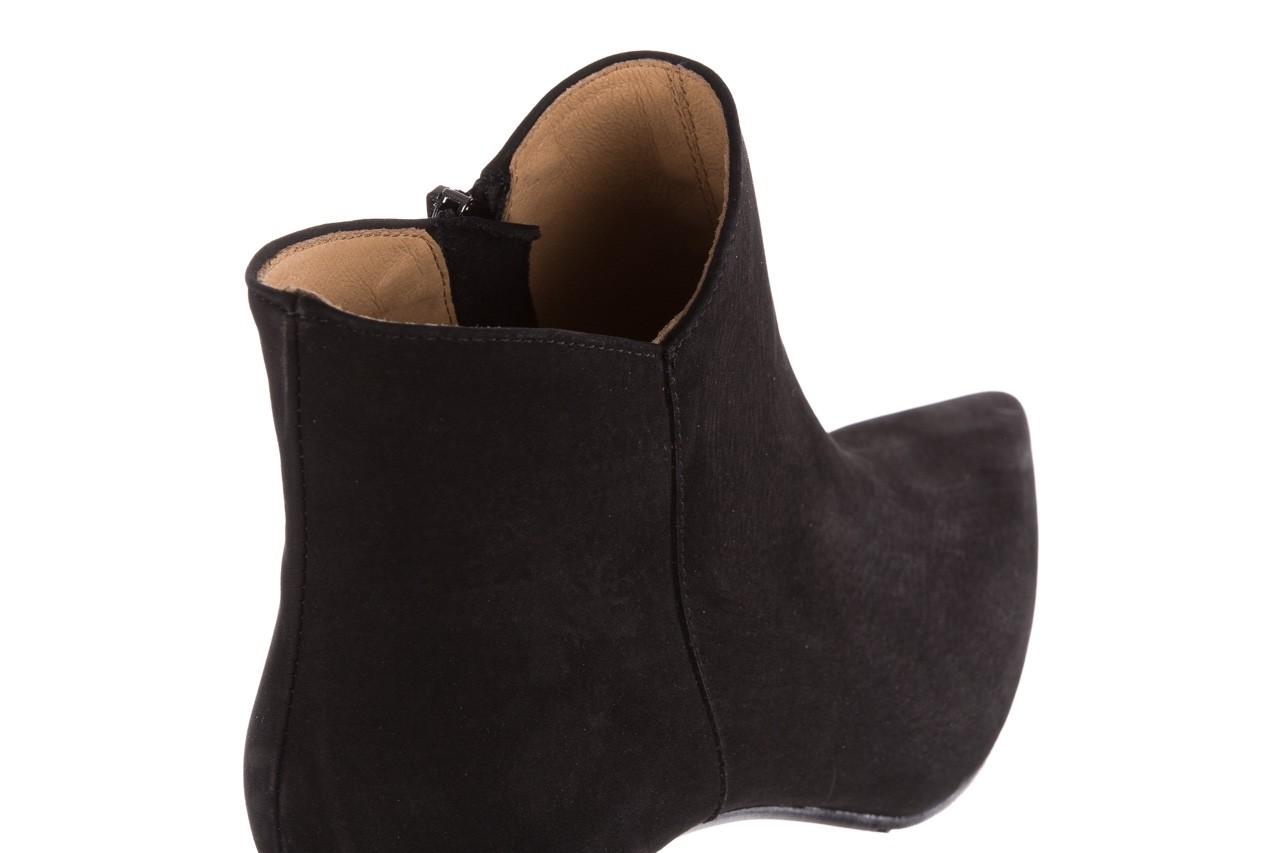 Botki bayla-188 007 czarny 188023, skóra naturalna  - skórzane - botki - buty damskie - kobieta 15