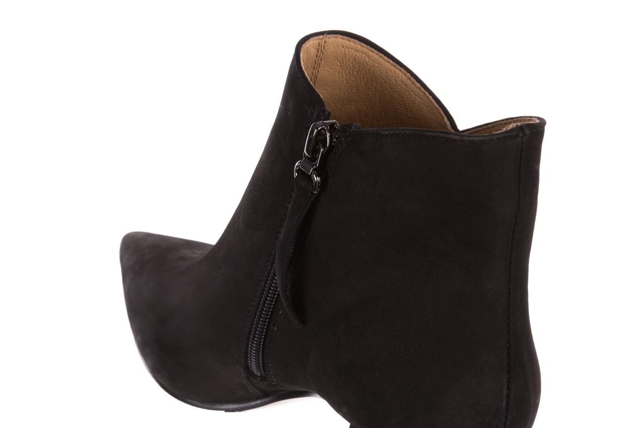 Botki bayla-188 007 czarny 188023, skóra naturalna  - skórzane - botki - buty damskie - kobieta 16