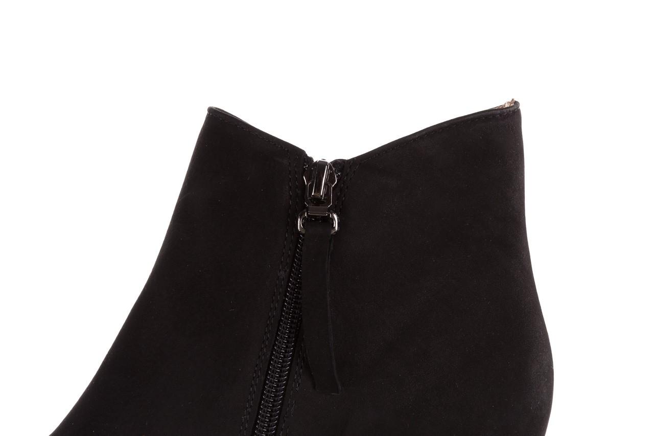 Botki bayla-188 007 czarny 188023, skóra naturalna  - skórzane - botki - buty damskie - kobieta 17