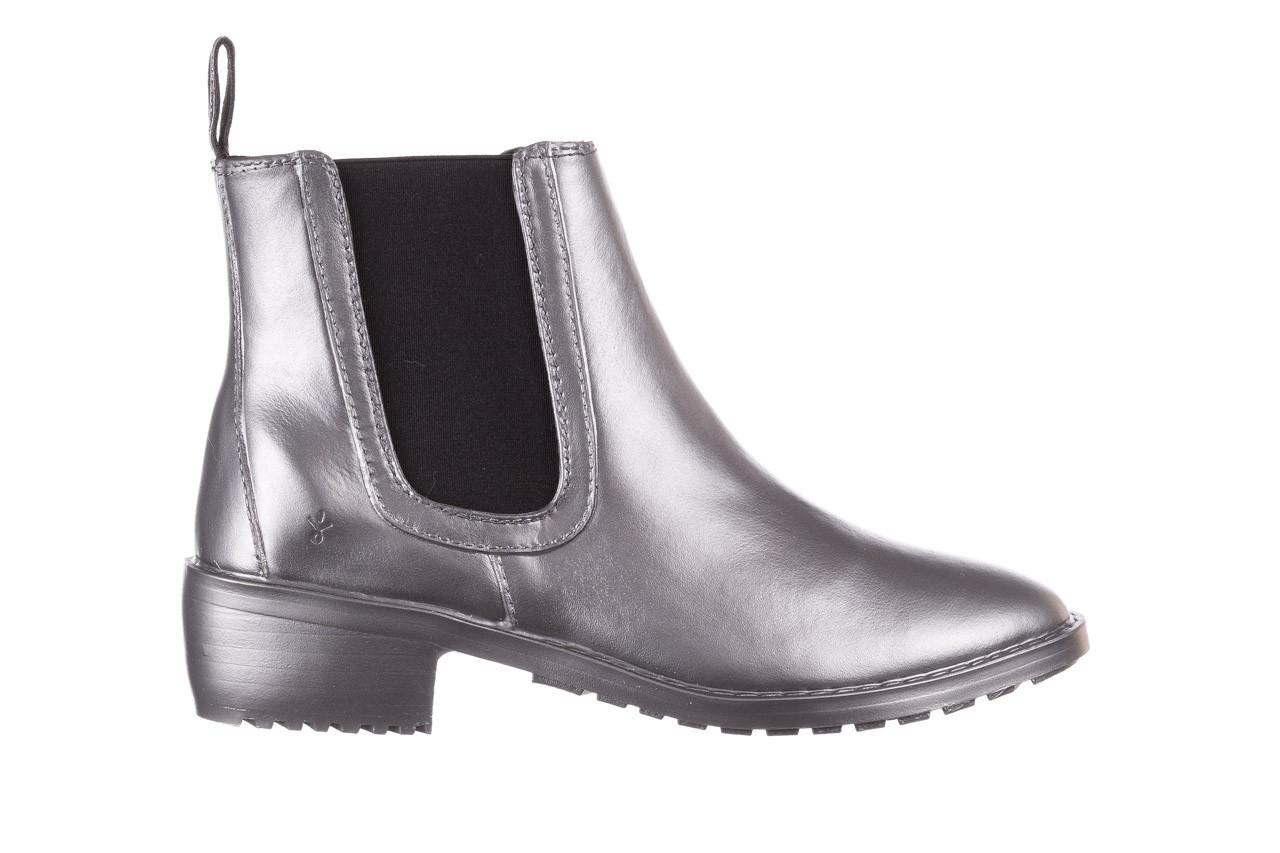 Kalosze emu ellin rainboot silver 119125, srebrny, guma - śniegowce i kalosze - dla niej  - sale 11