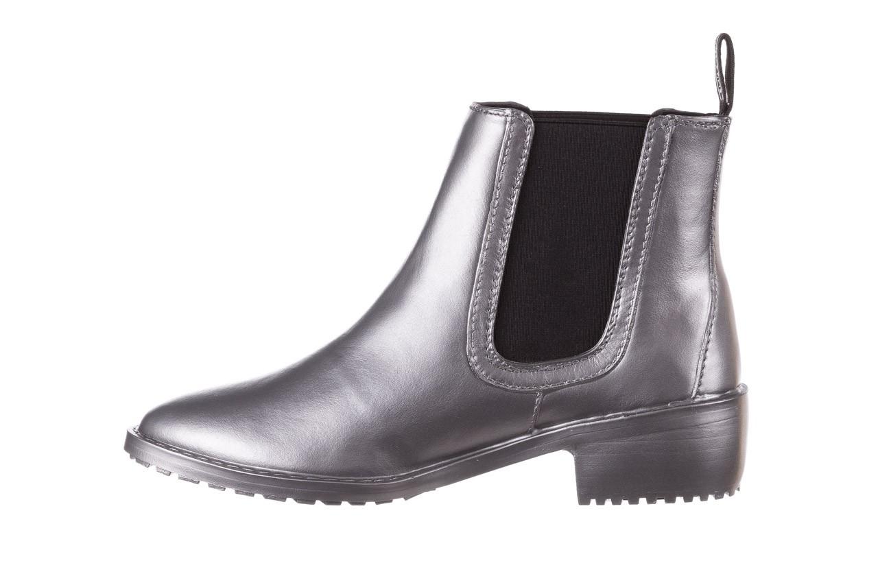 Kalosze emu ellin rainboot silver 119125, srebrny, guma - śniegowce i kalosze - dla niej  - sale 13