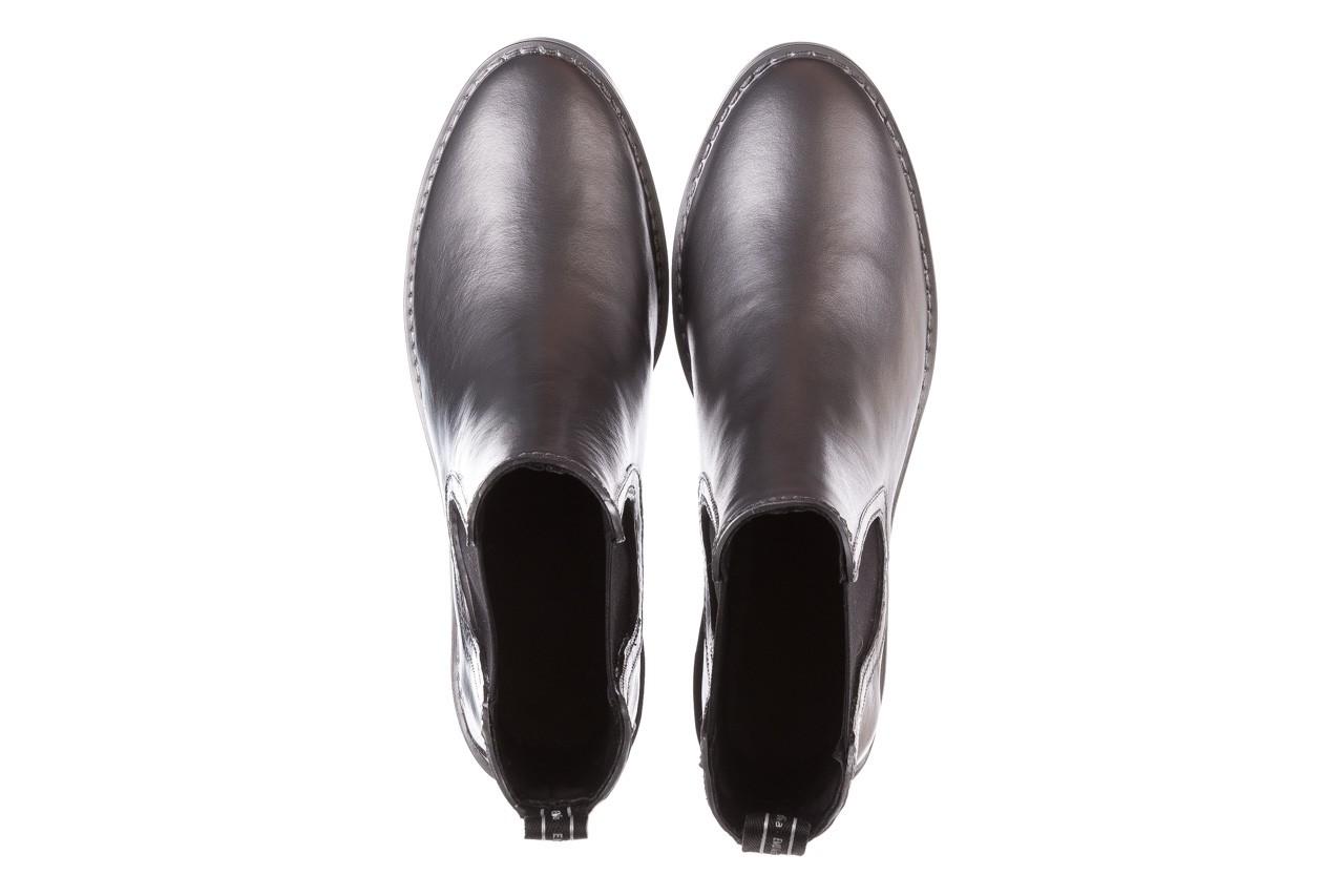 Kalosze emu ellin rainboot silver 119125, srebrny, guma - śniegowce i kalosze - dla niej  - sale 15