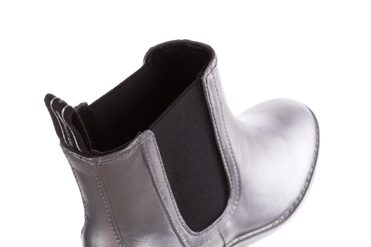 Kalosze emu ellin rainboot silver 119125, srebrny, guma - śniegowce i kalosze - dla niej  - sale 16