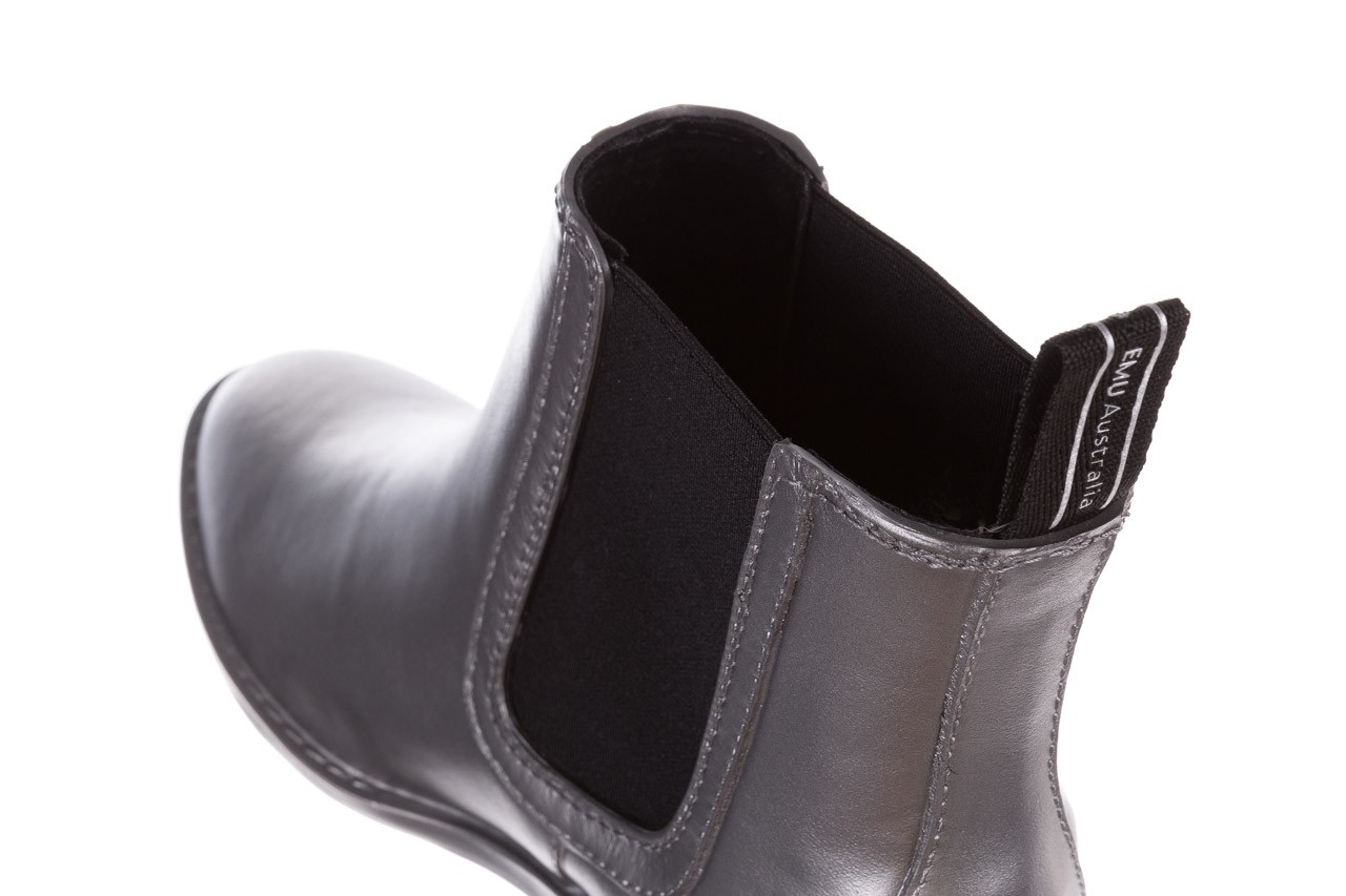 Kalosze emu ellin rainboot silver 119125, srebrny, guma - śniegowce i kalosze - dla niej  - sale 17