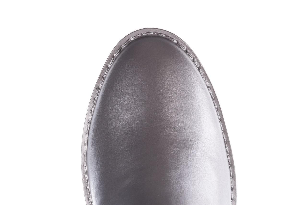 Kalosze emu ellin rainboot silver 119125, srebrny, guma - śniegowce i kalosze - dla niej  - sale 20