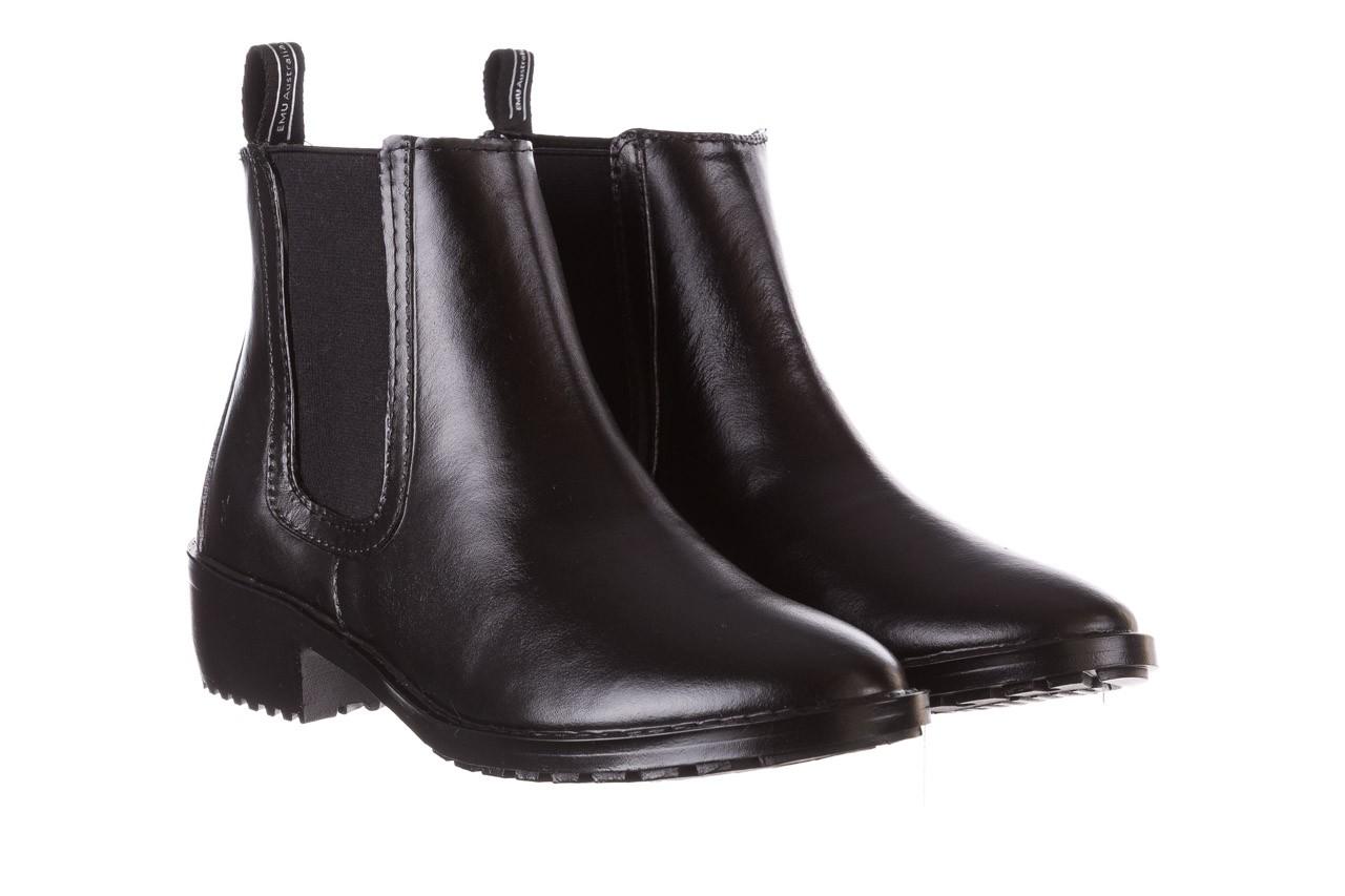 Kalosze emu ellin rainboot black 119126, czarny, guma 12