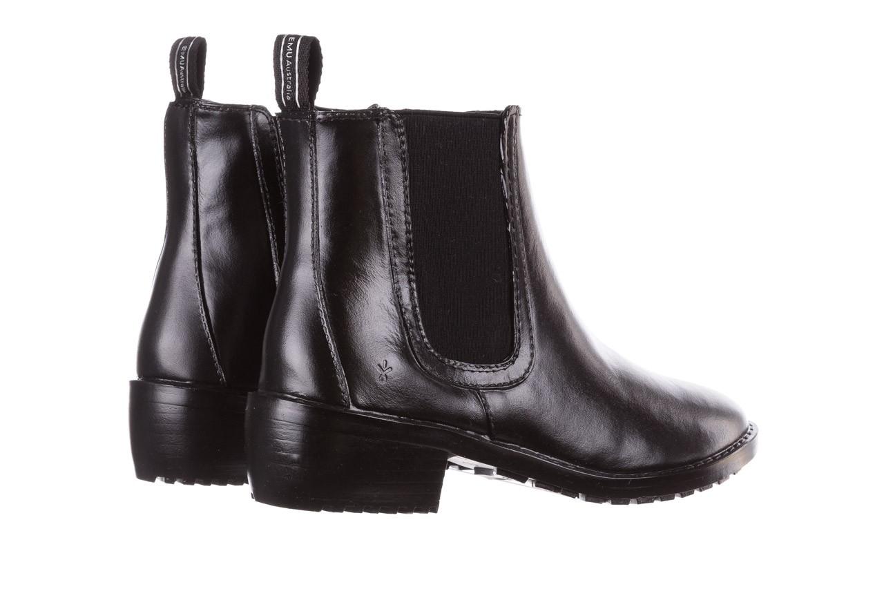 Kalosze emu ellin rainboot black 119126, czarny, guma 14
