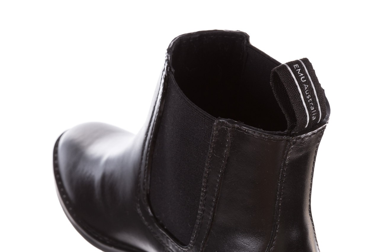 Kalosze emu ellin rainboot black 119126, czarny, guma 17