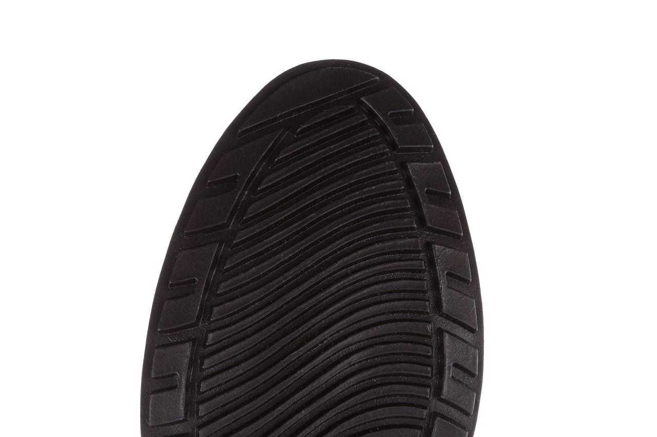 Kalosze emu ellin rainboot black 119126, czarny, guma 21
