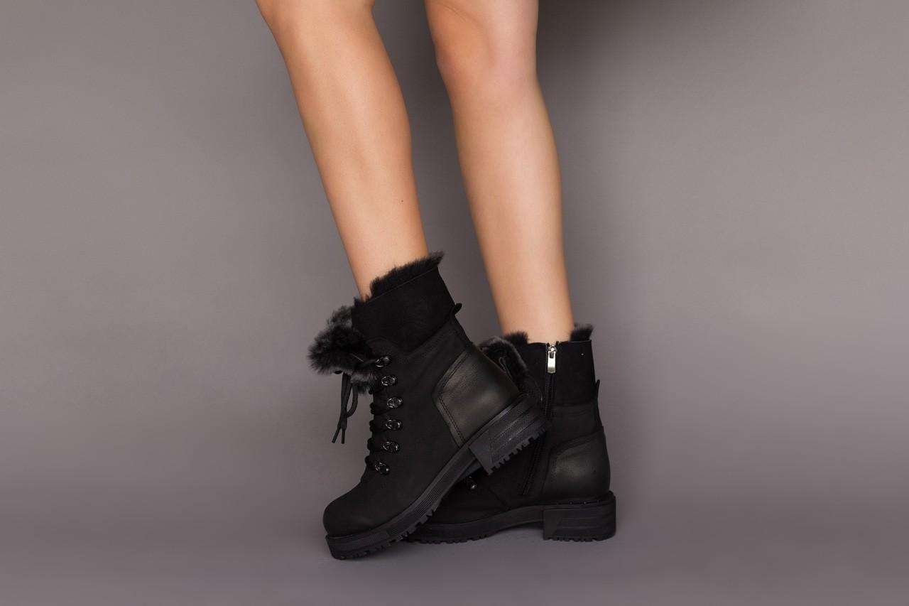 Trzewiki bayla-161 059-2117 black, czarny, skóra naturalna  - trzewiki - buty damskie - kobieta 13