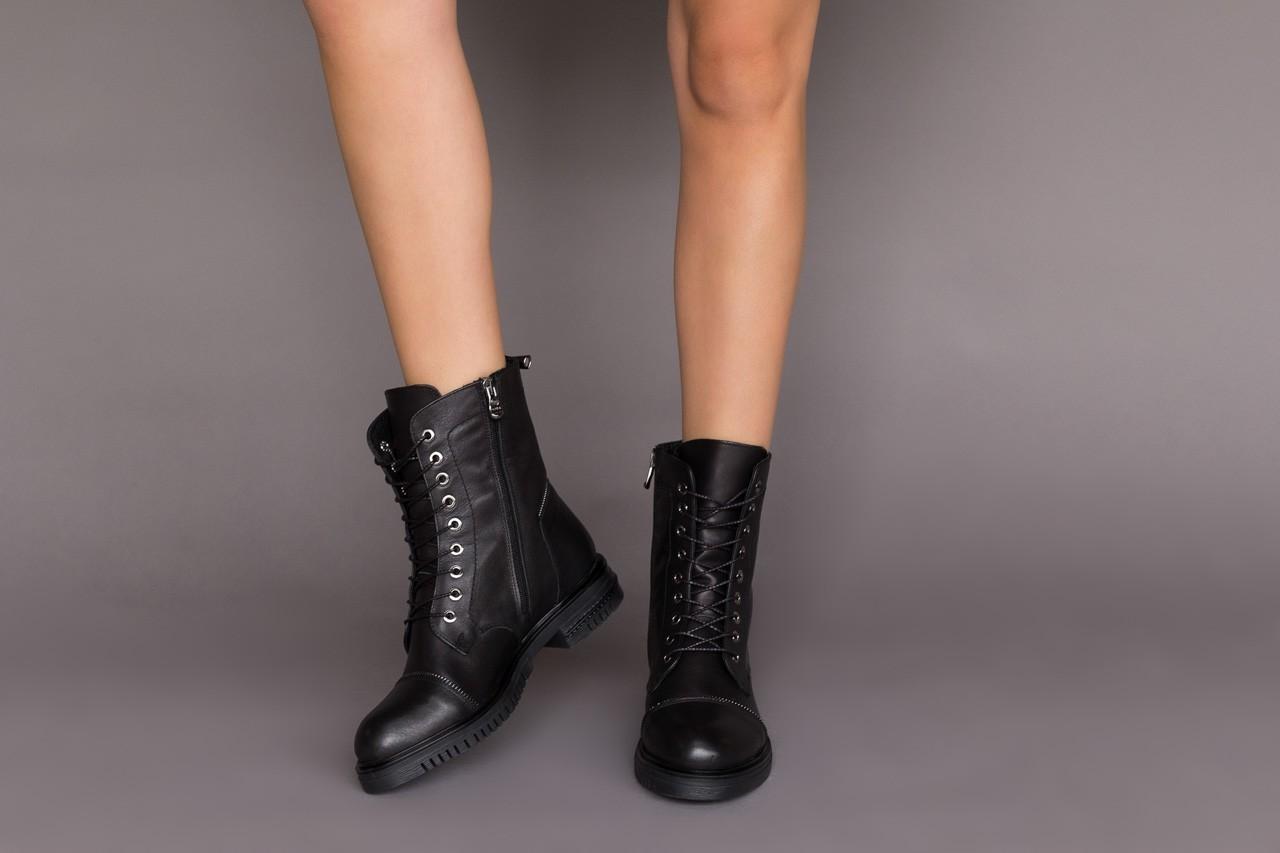 Trzewiki bayla-161 050-3055 black, czarny, skóra naturalna  - trzewiki - buty damskie - kobieta 13