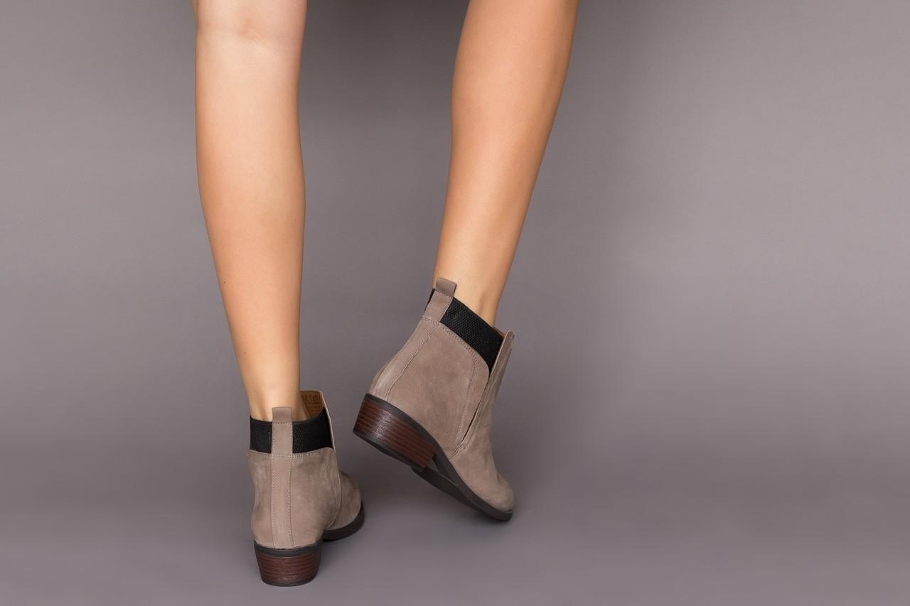 Botki bayla-161 061-2004 black, czarny, skóra naturalna  - skórzane - botki - buty damskie - kobieta 12