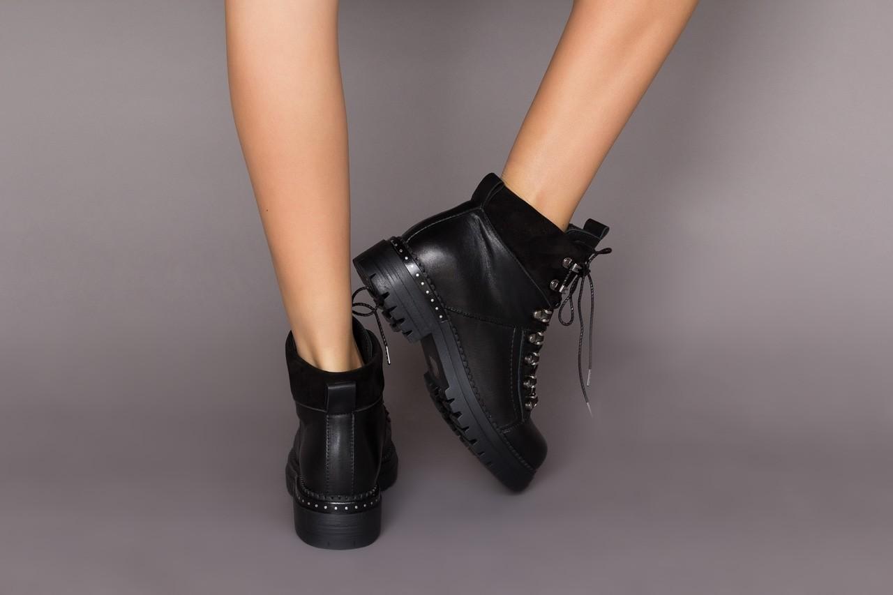 Trzewiki bayla-161 050-7256 black, czarny, skóra naturalna  - trzewiki - buty damskie - kobieta 11