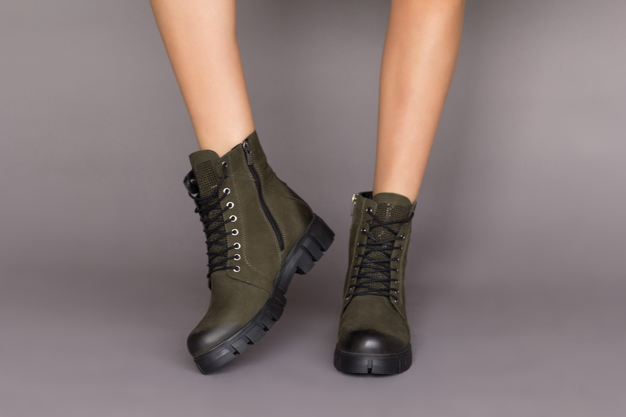 Trzewiki bayla-161 068-8675 black, czarny, skóra naturalna  - trzewiki - buty damskie - kobieta 11