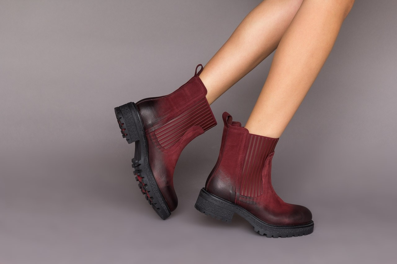 Botki bayla-161 050-0508 black, czarny, skóra naturalna  - skórzane - botki - buty damskie - kobieta 12