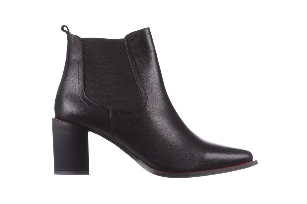 Botki bayla-195 20k-7200 black 195012, czarny, skóra naturalna  - skórzane - botki - buty damskie - kobieta 11